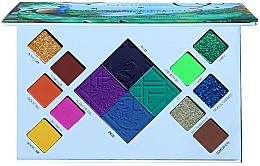 Parfumuri și produse cosmetice Paletă fard de ochi - Moira Wild In Colors Palette