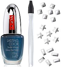 Parfumuri și produse cosmetice Set - Pupa Nail Art Mania Glam Jewels 002 Silver