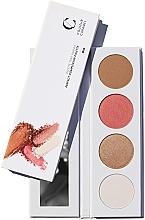Parfumuri și produse cosmetice Paletă de față 4în1 - Couleur Caramel