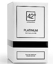 Parfumuri și produse cosmetice 42° by Beauty More Platinum Edition Limitee Pour Femme - Apă de parfum