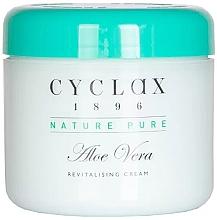 """Parfumuri și produse cosmetice Cremă revitalizantă pentru față și corp """"Aloe Vera"""" - Cyclax Nature Pure Aloe Vera Revitalising Cream"""