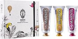"""Parfumuri și produse cosmetice Set """"Wonders of the World"""" - Marvis Set (toothpaste/3x25ml)"""