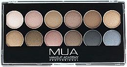 Parfumuri și produse cosmetice Paleta fard de ochi - MUA Undressed Eyeshadow Palette