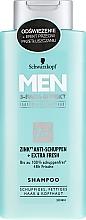 Parfumuri și produse cosmetice Șampon anti-mătreață - Schwarzkopf Men Deep Effect 3 Zinc Anti-Dandruff+Oil Control Shampoo