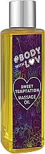 "Parfumuri și produse cosmetice Ulei pentru masaj ""Sweet Temptation"" - New Anna Cosmetics Body With Luv Massage Oil Sweet Temptation"