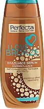 Parfumuri și produse cosmetice Autobronzant pentru corp - Perfecta I Love Bronze Serum