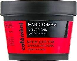 Духи, Парфюмерия, косметика Cremă de mâini - Cafe Mimi Hand Cream Velvet Skin