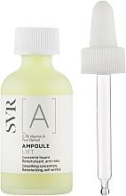 Parfumuri și produse cosmetice Concentrat cu vitamina A pentru față - SVR [A] Ampoule Lift Smoothing Concentrate