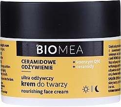 Parfumuri și produse cosmetice Cremă hidratantă cu coenzima Q10, zi și noapte - Farmona Biomea Nourishing Face Cream