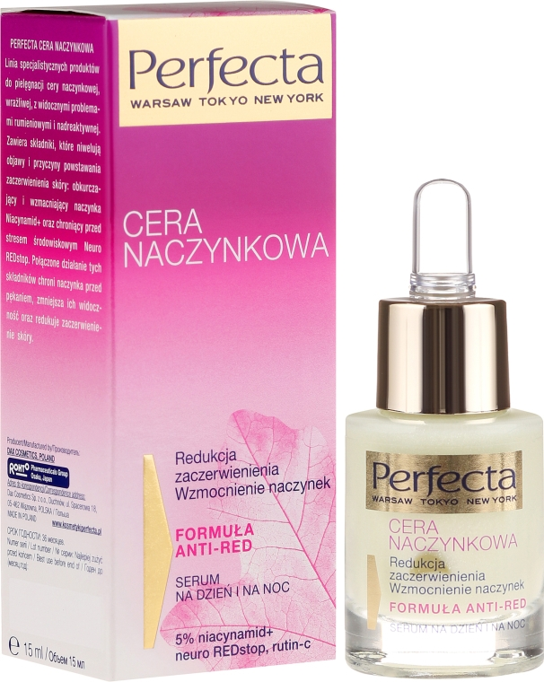 Ser pentru întărirea vaselor de sânge - Perfecta Cera Naczynkowa Serum