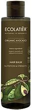 "Parfumuri și produse cosmetice Balsam de păr ""Nutriție și forță"" - Ecolatier Organic Avocado Hair Balm"