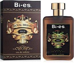 Parfumuri și produse cosmetice Bi-Es Royal Brand Gold - Apă de toaletă