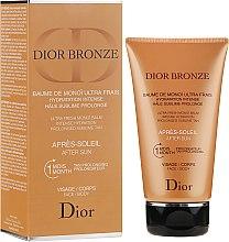 Parfumuri și produse cosmetice Cremă după bronzare pentru față și corp - Christian Dior Dior Bronze After Sun Baume de Monoi