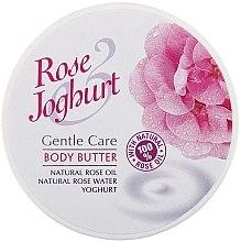 Parfumuri și produse cosmetice Ulei de corp - Bulgarian Rose Body Butter Rose Joghurt
