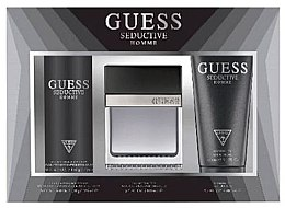 Parfumuri și produse cosmetice Guess Seductive Homme - Set (Edt/100 + deo/spray/226ml + sh/gel/200ml)