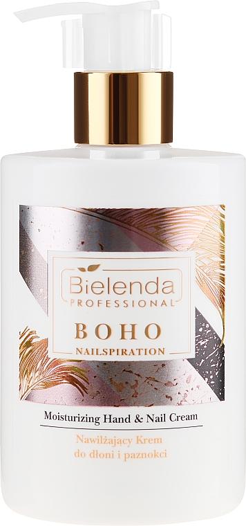 Cremă de mâini - Bielenda Professional Nailspiration Boho Moisturising Hand & Nail Cream