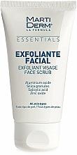 Parfumuri și produse cosmetice Scrub pentru față - MartiDerm Essentials Exfoliating Facial Scrub