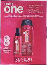 Set - Revlon Professional Uniq One (spray/150ml + shm/cond/300ml) — Imagine N1