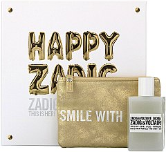 Parfumuri și produse cosmetice Zadig & Voltaire This is Her - Set (edp/50ml + pouch)