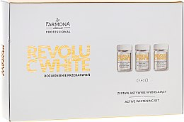 Parfumuri și produse cosmetice Set - Farmona Revolu C White Set (concentrate/10x5ml + mask/base/10x12ml + activator/10x2g)