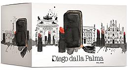 Parfumuri și produse cosmetice Set pentru machiajul buzelor - Diego Dalla Palma Your Lips (5 x lipstick/1.6g + bag)
