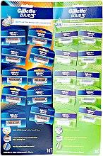 Parfumuri și produse cosmetice Aparate de ras de unică folosință - Gillette Blue 3
