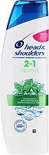 """Parfumuri și produse cosmetice Șampon anti-mătreață 2in1 """"Mentol"""" - Head & Shoulders 2in1 Menthol"""