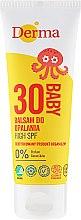 Parfumuri și produse cosmetice Balsam cu protecție solară pentru copii - Derma Eco Baby Sun Screen High SPF30