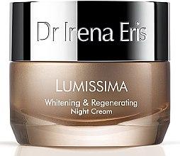Parfumuri și produse cosmetice Cremă de noapte pentru față - Dr. Irena Eris Lumissima Whitening & Regenerating Night Cream