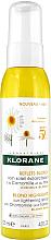 Parfumuri și produse cosmetice Spray pentru păr - Klorane Blond Highlights Sun Lightening Spray With Chamomile And Honey