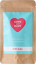 """Parfumuri și produse cosmetice Scrub de corp cu cafea """"Cocos dulce"""" - Love Your Body Peeling"""