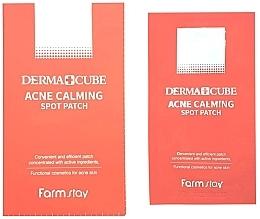 Parfumuri și produse cosmetice Patch-uri pentru acnee - FarmStay Derma Cube Acne Calming Spot Patch