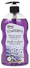 """Parfumuri și produse cosmetice Săpun lichid pentru mâini """"Lavandă și Aloe Vera"""" - Bluxcosmetics Naturaphy Hand Soap"""