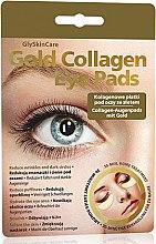 Parfumuri și produse cosmetice Patch-uri pentru pleoape, cu colagen - GlySkinCare Gold Collagen Eye Pads