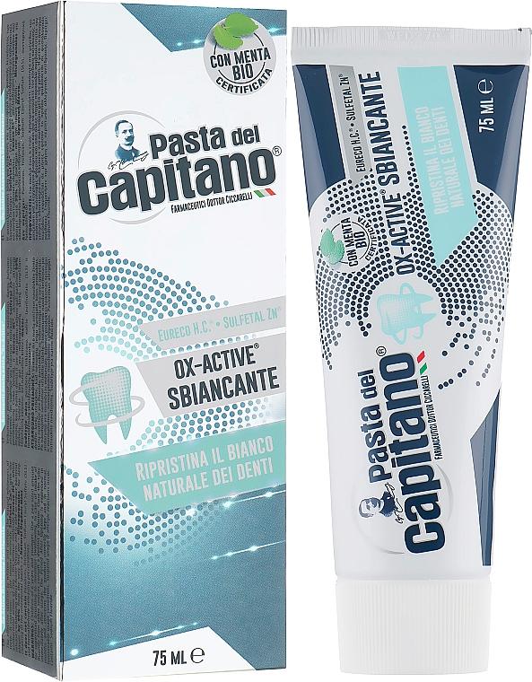 "Pastă de dinți ""Albire complexă"" - Pasta Del Capitano Ox-Active Sbiancante"