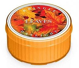 Parfumuri și produse cosmetice Lumânare de ceai - Kringle Candle Daylight Leaves