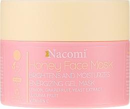 Parfumuri și produse cosmetice Gel-mască pentru față - Nacomi Honey Face Gel-Mask