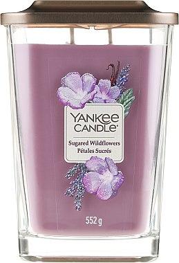 Lumânare aromată - Yankee Candle Elevation Sugared Wildflowers