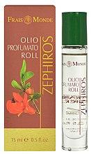 Parfumuri și produse cosmetice Frais Monde Zephiros Perfumed Oil Roll - Ulei parfumat