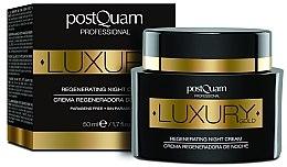 Parfumuri și produse cosmetice Cremă de noapte pentru față - Postquam Luxury Gold Regenerating Night Cream
