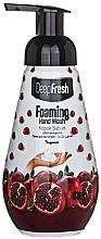 """Parfumuri și produse cosmetice Spumă pentru spălarea mâinilor """"Rodie"""" - Aksan Deep Fresh Foaming Hand Wash Pomegranate"""