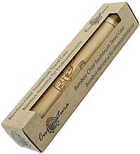 Parfumuri și produse cosmetice Husă din bambus pentru periuța de dinți, pentru copii - Curanatura Junior Bamboo Child Toothbruth Travel Case
