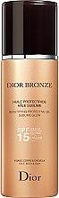 Parfumuri și produse cosmetice Ulei de protecție pentru bronzare - Christian Dior Bronze Beautifying Protective Oil Sublime Glow SPF 15