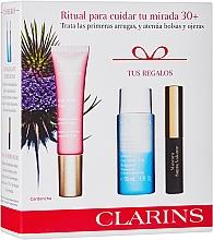 Духи, Парфюмерия, косметика Набор - Clarins Multi Active Yeux Set (eye/cr/15ml+makeup/remover/30ml+mascara/3.5ml)