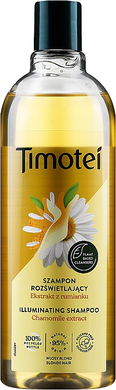 "Șampon balsam ""Rose of Jericho with marmot"" - Timotei Golden Highlights Shampoo"