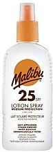 Parfumuri și produse cosmetice Loțiune-Spray de protecție solară pentru corp - Malibu Sun Lotion Spray Medium Protection Water Resistant SPF 25