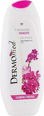 Nawilżający żel pod prysznic Kaszmir i orchidea - Dermomed Cashmere & Orchid Shower Gel