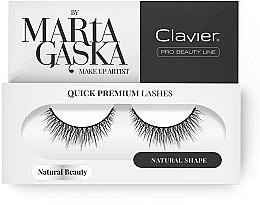 Parfumuri și produse cosmetice Gen false - Clavier Quick Premium Lashes Natural Beauty 827