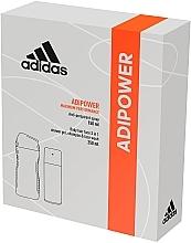 Parfumuri și produse cosmetice Set - Adidas Adipower Men (deo/150ml +sh/gel/250ml)