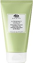Parfumuri și produse cosmetice Spumă de curățare cu efect de detox pentru față - Origins A Perfect World Antioxidant Cleanser White Tea